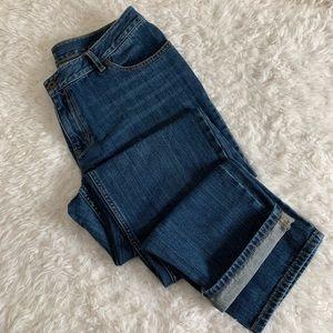 J. Jill | Relaxed Fit Boyfriend Jeans | 8 Tall